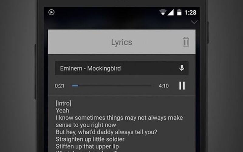 Скриншот 1 программы Stellio Music Player