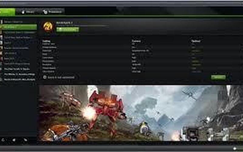 Скриншот 1 программы Geforce Experience