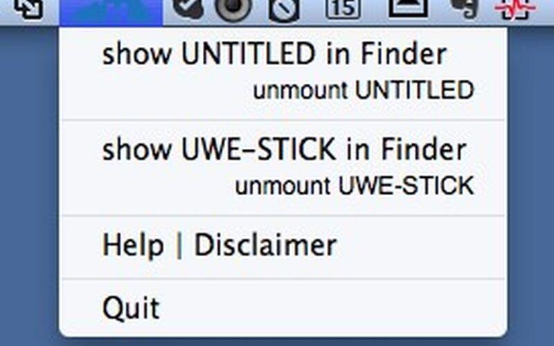 Скриншот 1 программы Mounty for NTFS