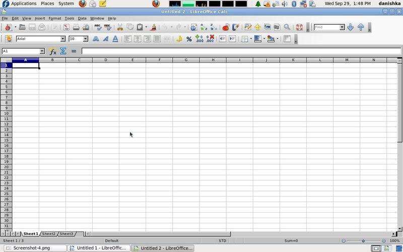 Скриншот 1 программы LibreOffice
