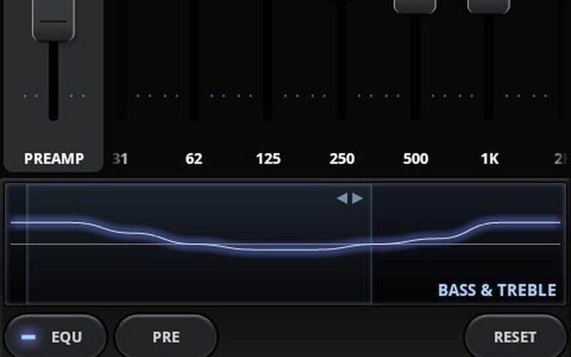 Скриншот 1 программы Poweramp