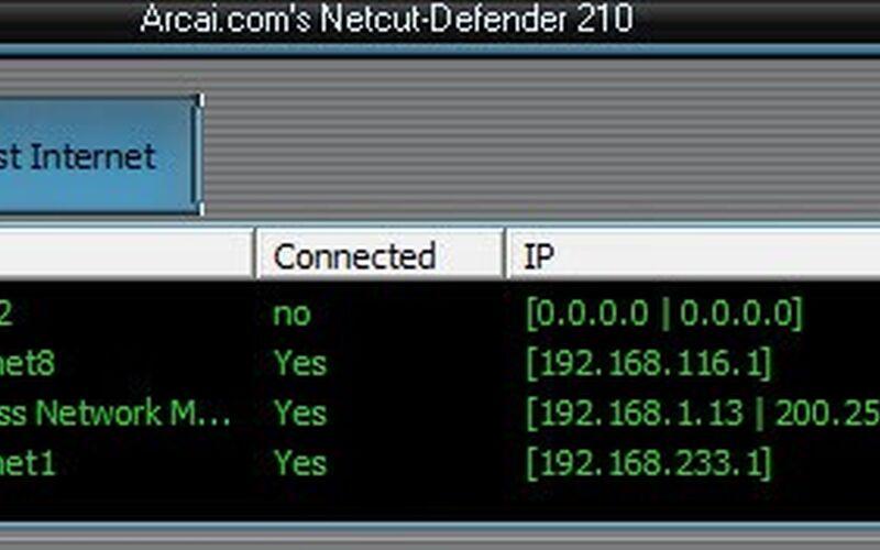Скриншот 1 программы Netcut Defender