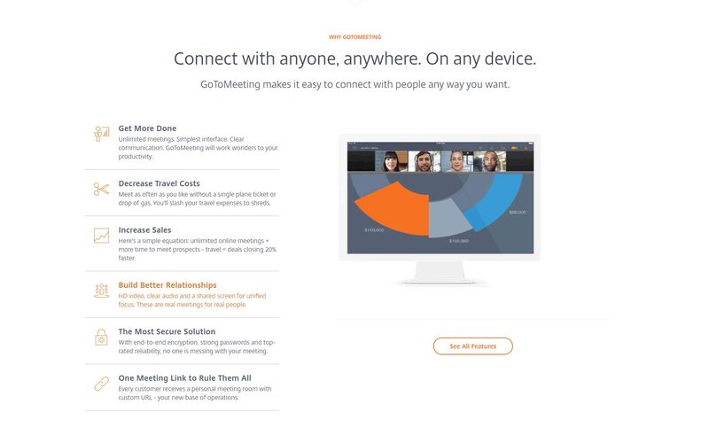 Скриншот 1 программы GoToMeeting