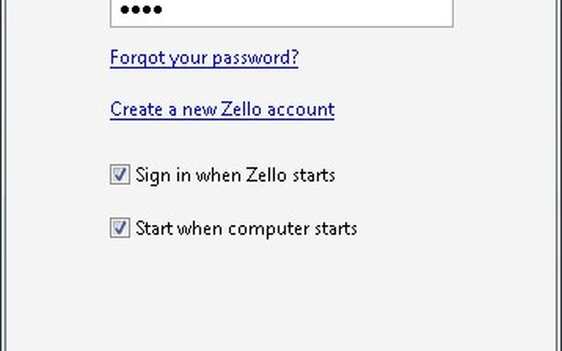Скриншот 1 программы Zello