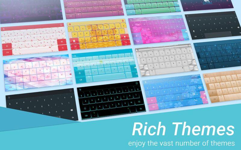 Скриншот 1 программы TouchPal Keyboard