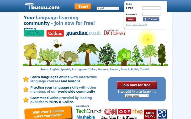 Скриншот 1 программы Busuu