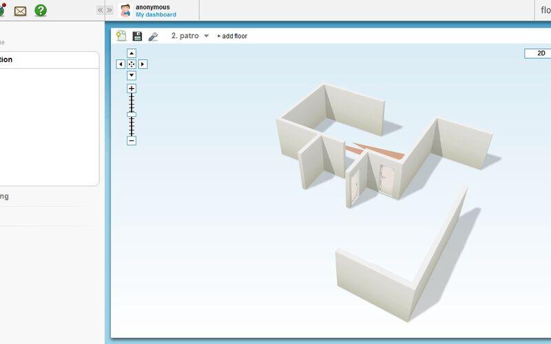 Скриншот 1 программы Floorplanner