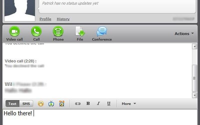 Скриншот 1 программы ICQ