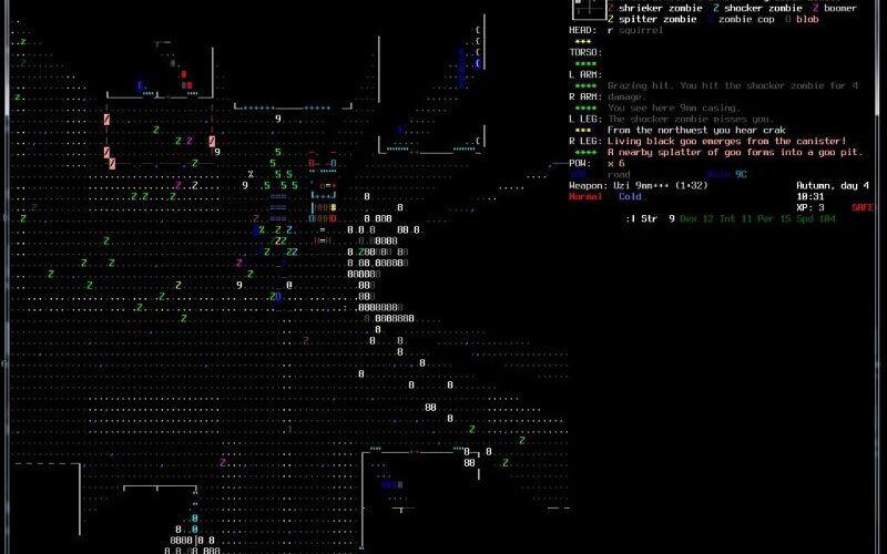 Скриншот 1 программы Cataclysm: Dark Days Ahead