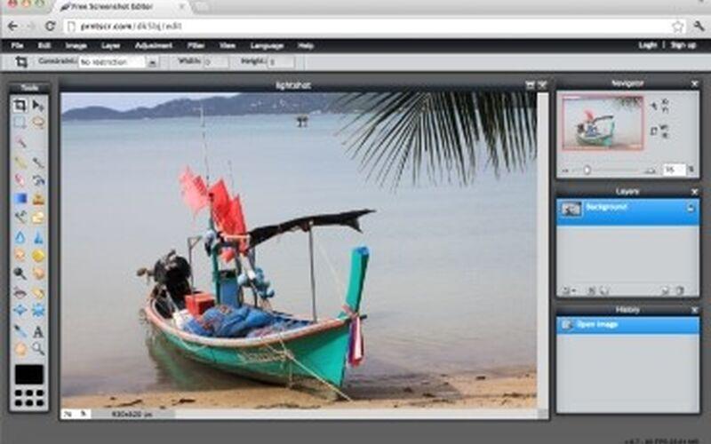 Скриншот 1 программы LightShot