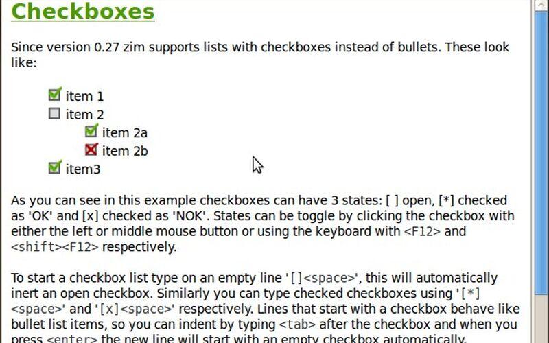 Скриншот 1 программы Zim