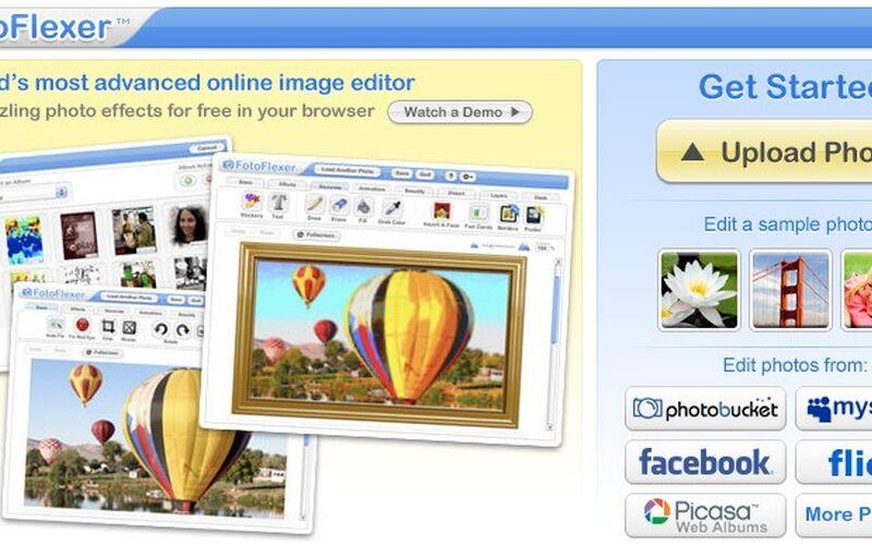 Скриншот 1 программы FotoFlexer