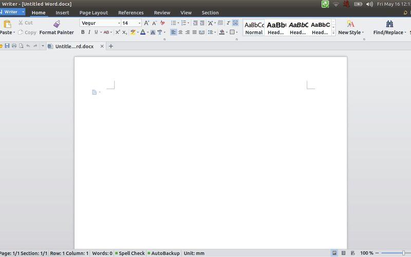 Скриншот 1 программы WPS Office