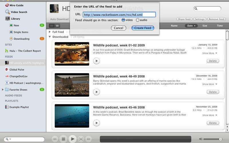 Скриншот 1 программы Miro