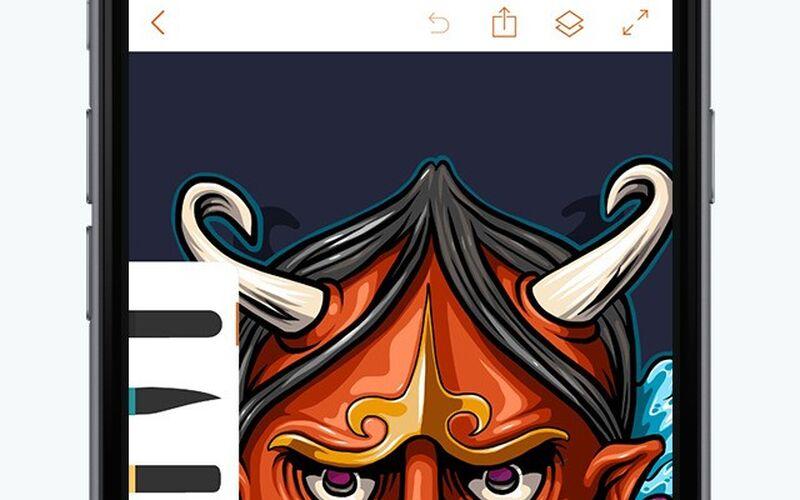 Скриншот 1 программы Adobe Illustrator Draw