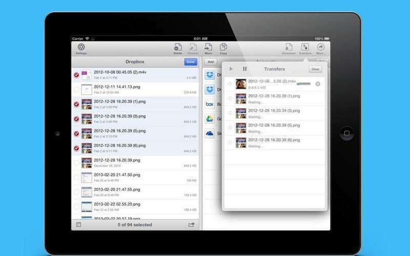 Скриншот 1 программы AirFile
