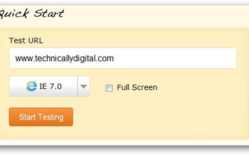 Скриншот 1 программы BrowserStack