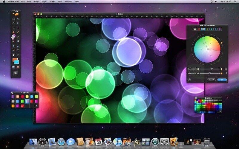 Скриншот 1 программы Pixelmator