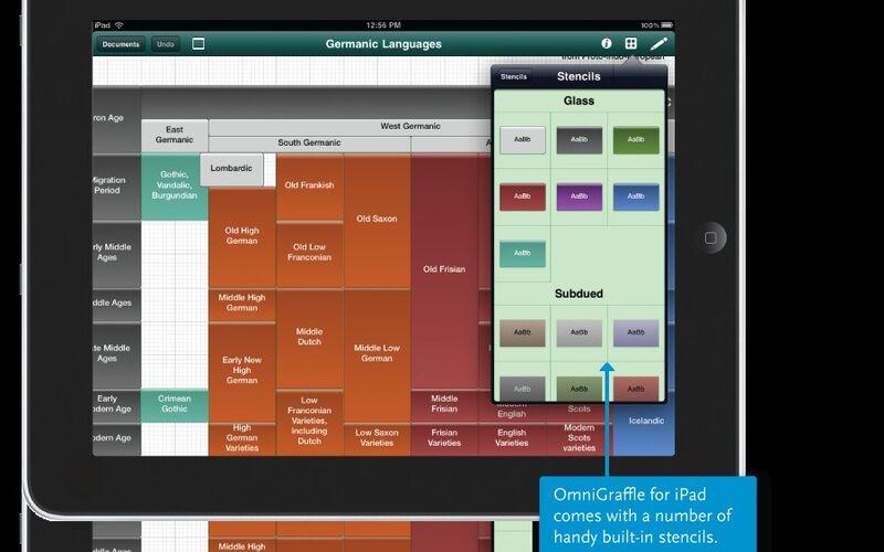 Скриншот 1 программы OmniGraffle