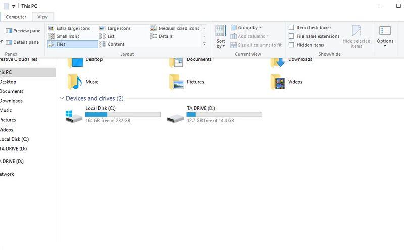 Скриншот 1 программы File Explorer