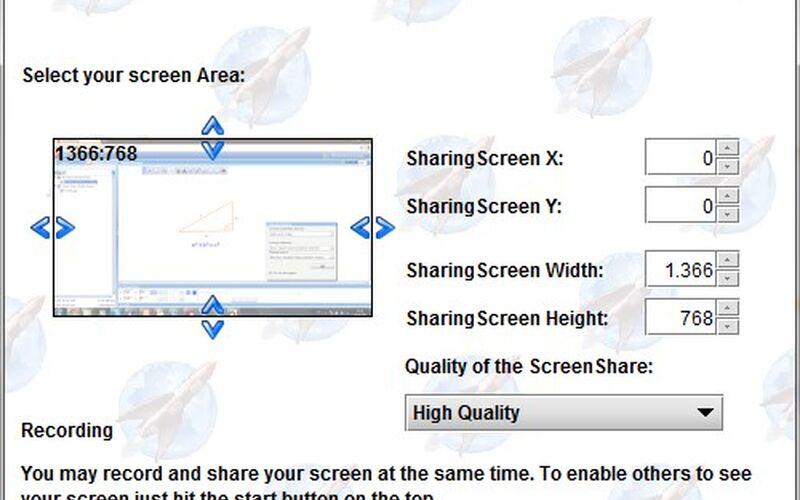 Скриншот 1 программы OpenMeetings