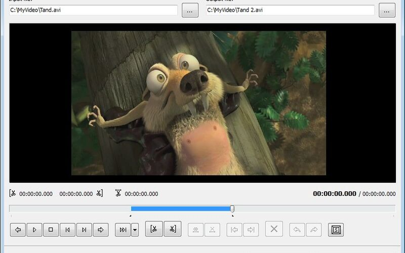 Скриншот 1 программы Free Video Dub