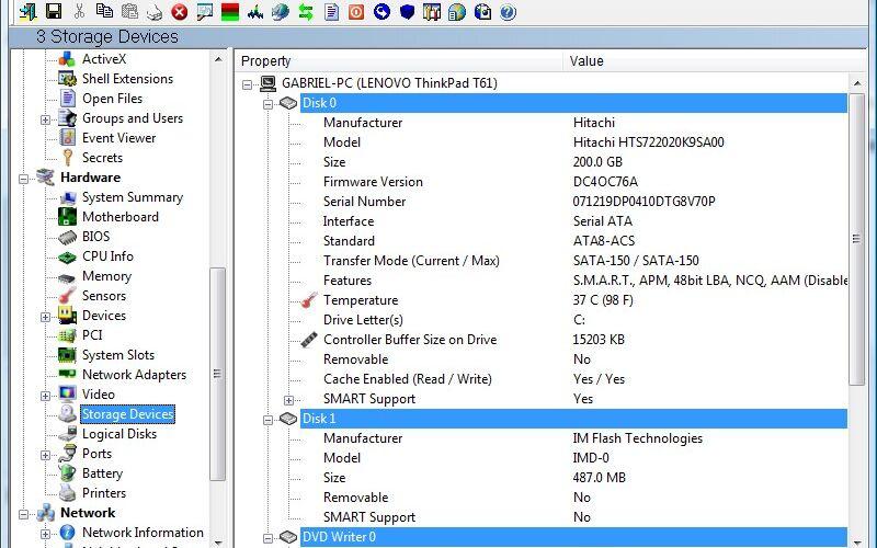 Скриншот 1 программы SIW