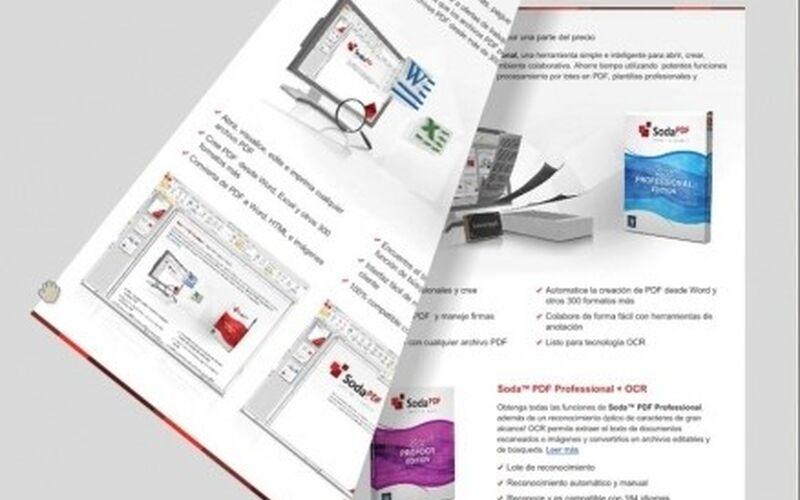 Скриншот 1 программы Soda PDF 3D Reader