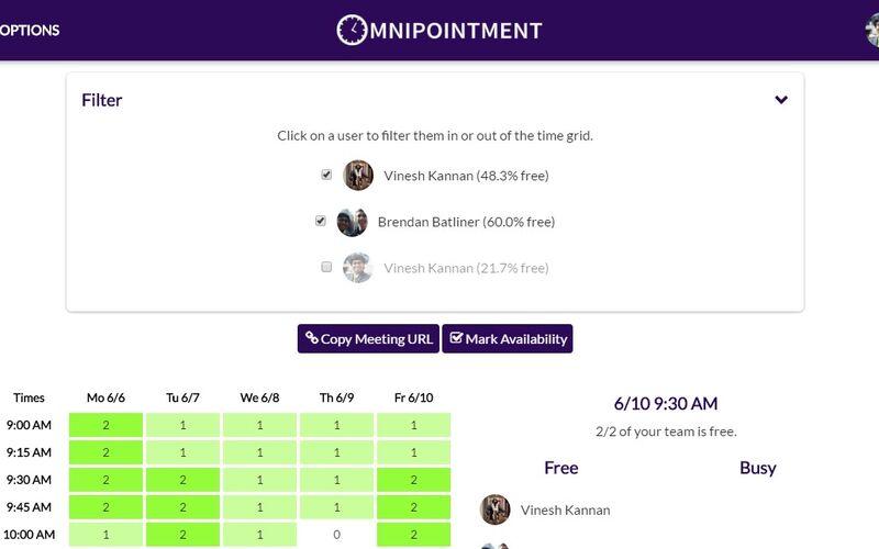 Скриншот 1 программы Omnipointment