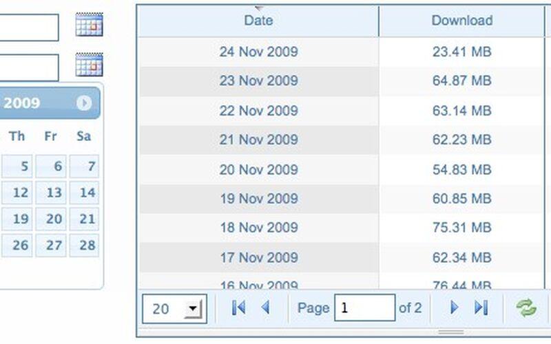 Скриншот 1 программы BitMeter OS