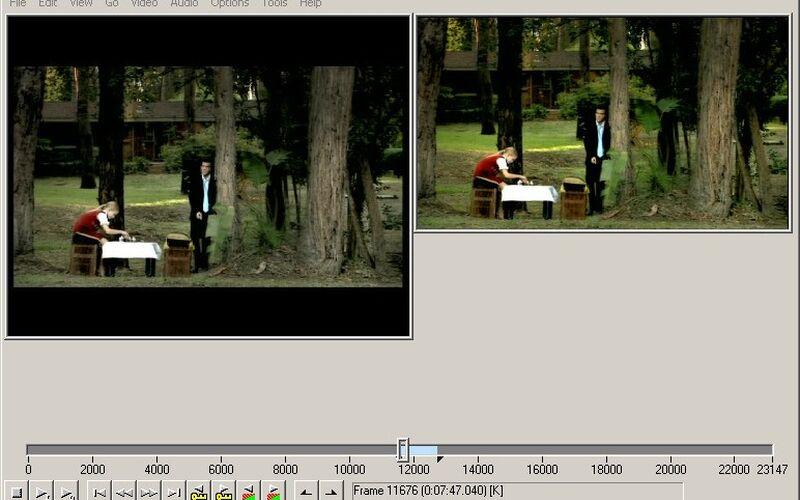 Скриншот 1 программы VirtualDub