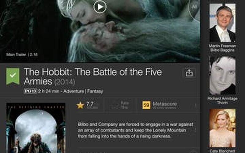 Скриншот 1 программы IMDb
