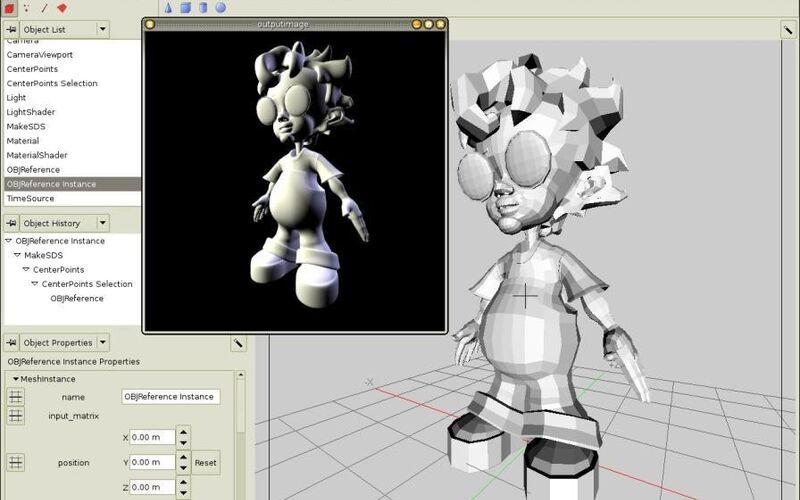 Скриншот 1 программы K-3D