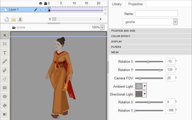 Скриншот 1 программы NanoFL Editor
