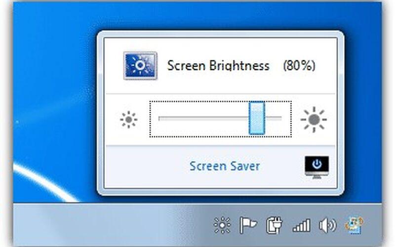 Скриншот 1 программы iBrightness Tray