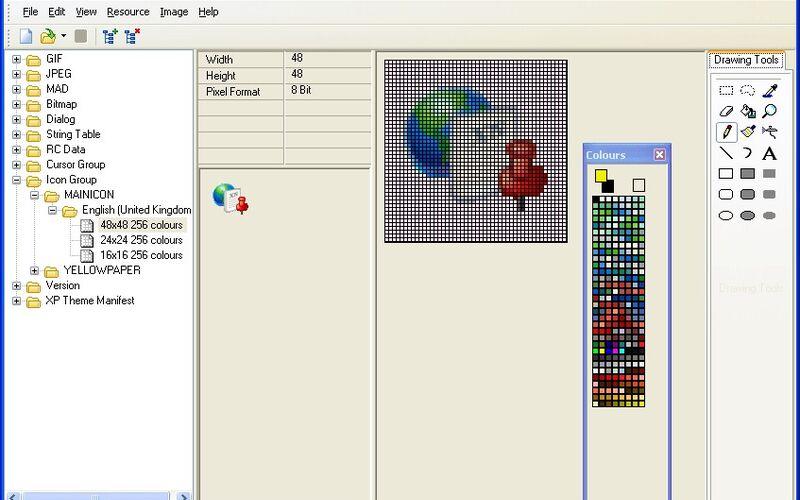 Скриншот 1 программы XN Resource Editor