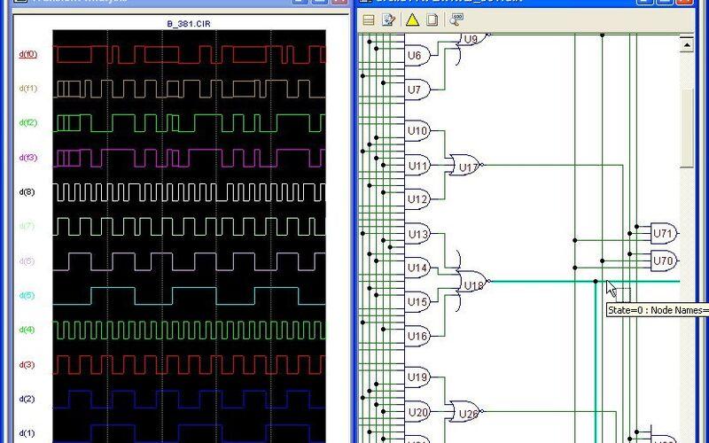 Скриншот 1 программы Micro-Cap