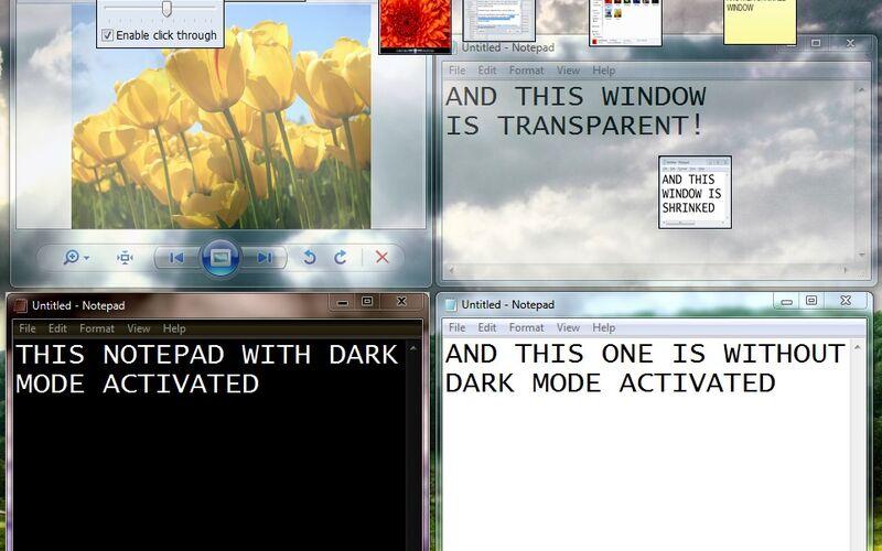 Скриншот 1 программы WindowTop