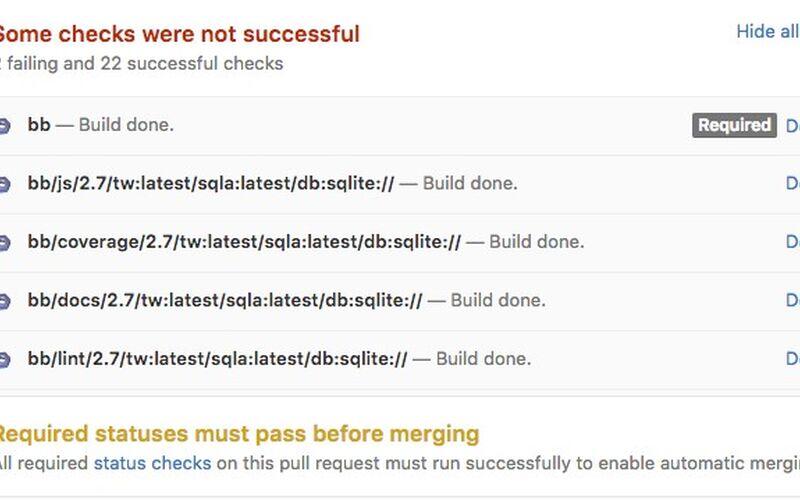 Скриншот 1 программы Buildbot