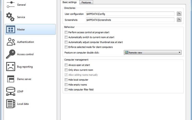 Скриншот 1 программы Veyon