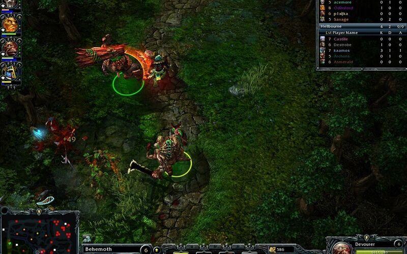 Скриншот 1 программы Heroes of Newerth
