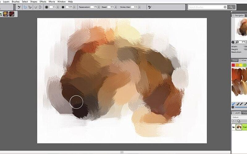 Скриншот 1 программы Corel Painter