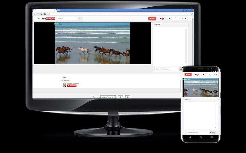 Скриншот 1 программы YouPHPTube