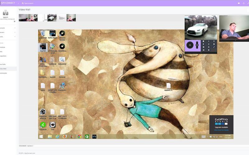 Скриншот 1 программы iSpy