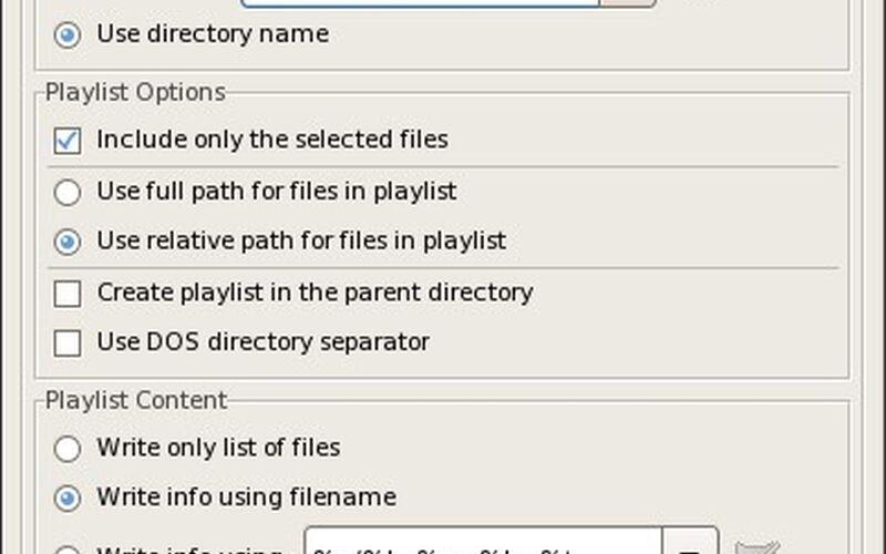 Скриншот 1 программы EasyTAG