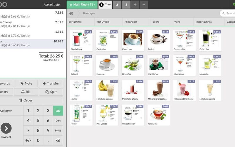 Скриншот 1 программы Odoo