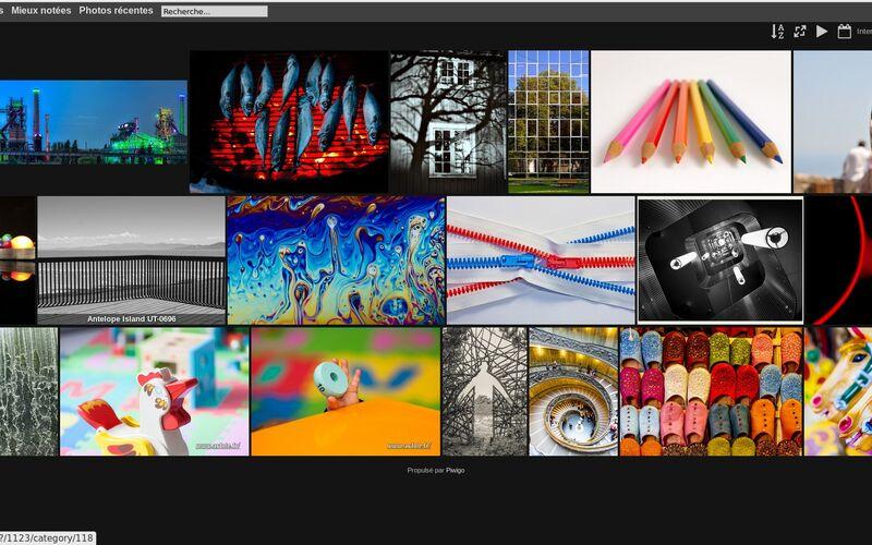 Скриншот 1 программы Piwigo