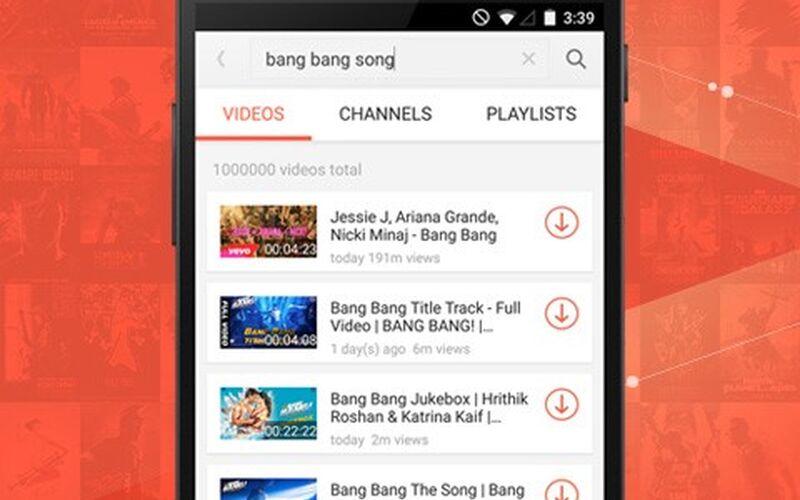 Скриншот 1 программы SnapTube