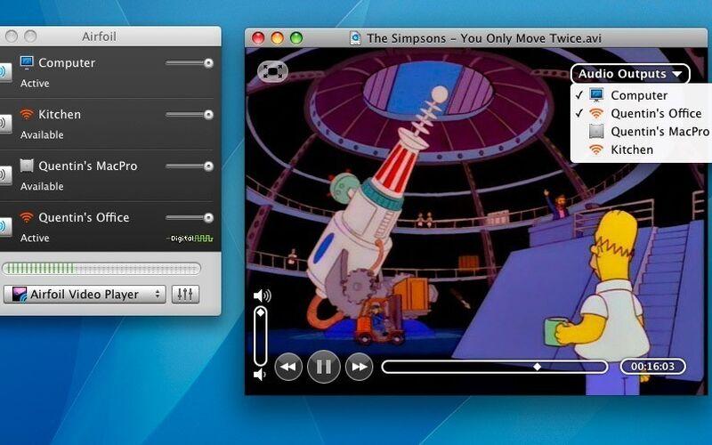 Скриншот 1 программы Airfoil