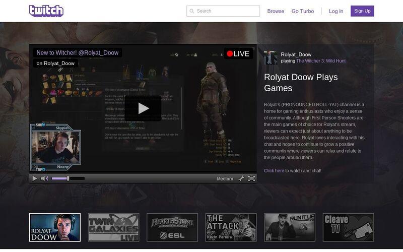 Скриншот 1 программы Twitch